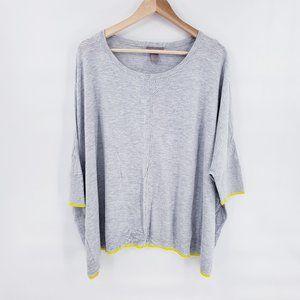 H&M Plus Size Women's 3/4 Sleeve Blouse